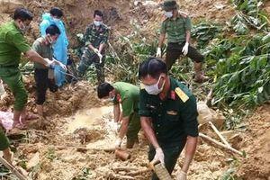 Đã tìm thấy nạn nhân bị vùi lấp do sạt, lở đất ở Bắc Trà My