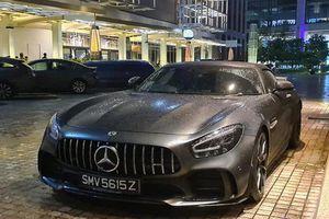 Siêu xe Mercedes-AMG GT R mui trần gần 20 tỷ đến Singapore