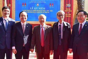 Tổng Bí thư, Chủ tịch nước Nguyễn Phú Trọng trở về trường xưa