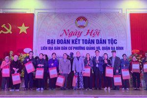 Ngày Hội Đại đoàn kết toàn dân tộc liên địa bàn dân cư phường Giảng Võ năm 2020