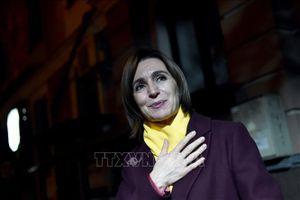 Bà Maia Sandu chiến thắng vòng hai bầu cử Tổng thống Moldova