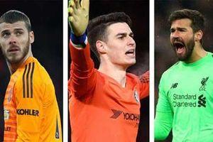 Alisson, De Gea và Kepa rơi nhóm cứu thua kém tại Premier League 2020/21