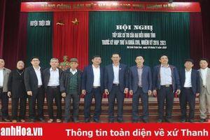 Tổ đại biểu HĐND tỉnh tiếp xúc cử tri huyện Triệu Sơn