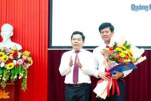 Công bố Quyết định bổ nhiệm Trưởng ban Quản lý KKT Dung Quất và các KCN Quảng Ngãi