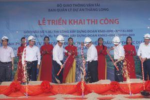 Bình Thuận: Triển khai thi công cao tốc Phan Thiết - Dầu Giây