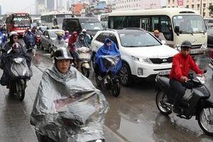 Miền Bắc mưa rét, Hà Nội thấp nhất 18 độ