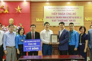 Samsung Việt Nam ủng hộ 5 tỷ đồng cho các tỉnh bão lũ miền Trung