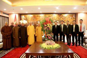 Chủ tịch UBND TP mong muốn Giáo hội Phật giáo Việt Nam TP Hà Nội đồng hành xây dựng Thủ đô