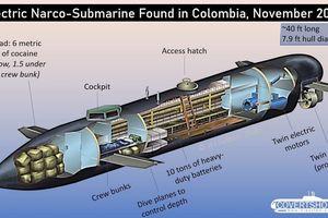 Dùng tàu ngầm mini vận chuyển 'hàng trắng' - thủ đoạn tinh vi của những kẻ buôn ma túy