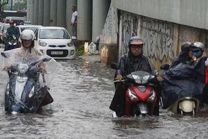 TP Hồ Chí Minh: Triều cường vượt báo động III, nhiều tuyến đường ngập sâu