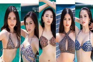 Ngắm Tốp 35 Hoa hậu Việt Nam 2020 diện bikini trước Chung kết