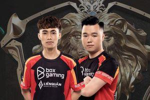 Box Gaming chốt đội hình dự AIC 2020 với 3 cựu binh