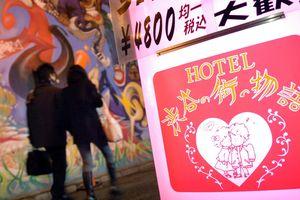 Người Nhật bí mật đi khách sạn tình yêu trong dịch