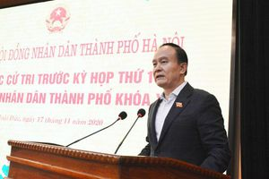 Phó Bí thư Thành ủy Nguyễn Ngọc Tuấn tiếp xúc cử tri huyện Hoài Đức: Mong cử tri tiếp tục đồng hành cùng hoạt động của HĐND TP