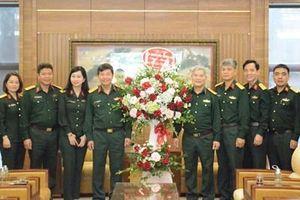 Báo Quân đội nhân dân thăm, chúc mừng Học viện Khoa học Quân sự nhân ngày 20-11
