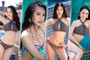 Top 35 Hoa hậu Việt Nam thả dáng quyến rũ: Thu Phương - Phương Quỳnh - Hải My nổi bật