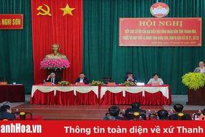 Ủy viên Trung ương Đảng, Chủ tịch HĐND tỉnh Trịnh Văn Chiến và Tổ đại biểu HĐND tỉnh tiếp xúc cử tri thị xã Nghi Sơn