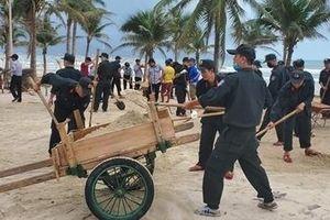 CSCĐ Đà Nẵng giúp người dân khắc phục hậu quả bão số 13