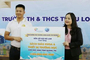 Sữa Cô Gái Hà Lan tặng quà cho 1.700 học sinh Quảng Trị
