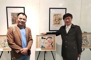 'Sơn Kiều' tổ chức triển lãm 'Hội họa Truyện Kiều'