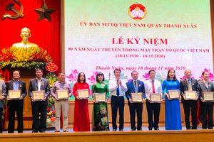 MTTQ các cấp quận Thanh Xuân vận động được 4 tỷ đồng ủng hộ đồng bào vùng lũ