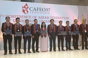 Hội nghị Liên đoàn các tổ chức kỹ sư ASEAN tại Hà Nội
