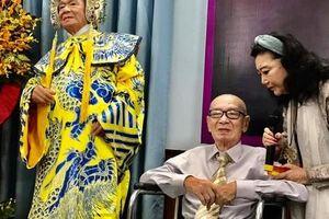 Nghệ sĩ tề tựu vinh danh NSND Đinh Bằng Phi