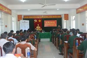 Thượng tướng Nguyễn Phương Nam kiểm tra Dự án đường Tuần tra biên giới tại các tỉnh Nam Tây Nguyên