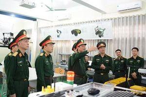 Kiểm tra xây dựng đơn vị vững mạnh toàn diện 'mẫu mực, tiêu biểu' tại Học viện Kỹ thuật quân sự