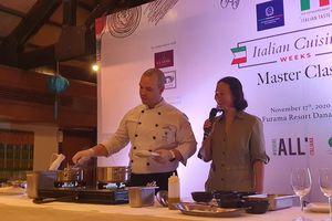 Đặc sắc tuần lễ ẩm thực Ý tại Đà Nẵng