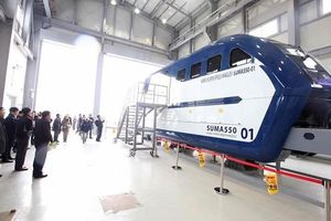 Hàn Quốc ra mắt nguyên mẫu tàu Hyper-Tube 'khủng', tốc độ 1.000km/h