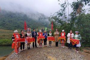 Khánh thành cầu 'Vì tầm vóc Việt': Cầu đẹp, cách làm độc đáo