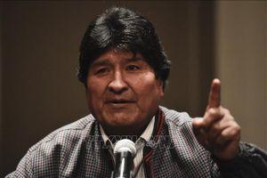 Bolivia: Cựu Tổng thống Morales tiếp nhận lại cương vị lãnh đạo đảng cầm quyền
