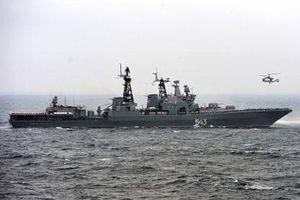 'Nguyên soái Shaposhnikov' Nga so với tàu Arleigh Burke Mỹ
