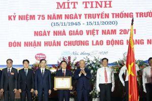 Đại học GTVT đón nhận Huân chương Lao động hạng Nhất lần thứ 3