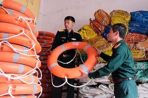 Ban CHQS huyện Cô Tô: Chủ động cứu nạn, cứu hộ trên biển