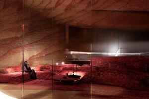Trải nghiệm thú vị khách sạn trong vách đá sa thạch nghìn năm tuổi