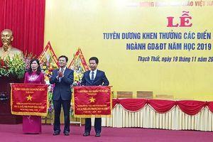 Huyện Thạch Thất: Tuyên dương khen thưởng điển hình tiên tiến ngành giáo dục