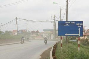 Hà Nội phê duyệt chỉ giới đường đỏ tuyến đường vào cảng Khuyến Lương