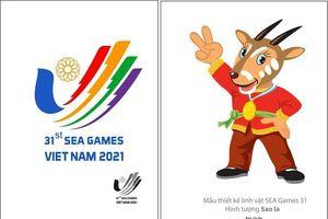 Sao la chính thức trở thành linh vật SEA Games 31