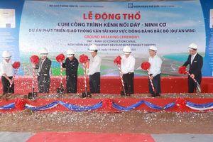Động thổ xây dựng cụm công trình kênh nối sông Đáy – sông Ninh Cơ