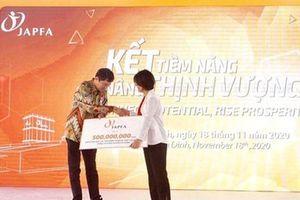 Japfa Việt Nam ủng hộ đồng bào miền Trung 500 triệu đồng
