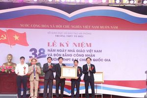 Hải Phòng: Thêm một trường THPT đón danh hiệu Trường chuẩn Quốc gia