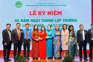 Trường ĐH Nông lâm TP.HCM kỷ niệm 65 năm thành lập