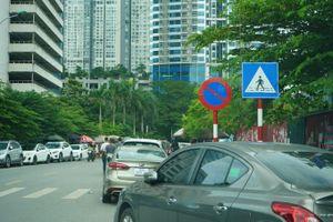 Hà Nội: Phương tiện bất tuân biển báo giao thông gây bức xúc