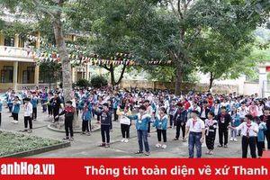 Hà Trung đẩy mạnh xây dựng môi trường học đường không khói thuốc