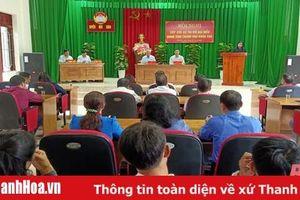 Tổ đại biểu HĐND tỉnh tiếp xúc cử tri huyện Như Xuân
