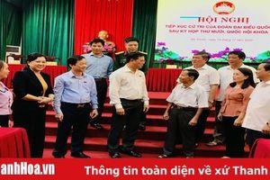 Đại biểu Quốc hội tiếp xúc cử tri huyện Bá Thước