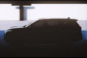 Mẫu xe SUV 7 chỗ Nissan Terra 2021 sẽ ra mắt vào ngày 25/11 tới