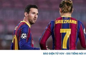 Messi đăng đàn 'khẩu chiến' với người đại diện cũ của Griezmann